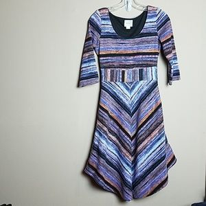 Maeve Anthropologie Kebren Stripe Stretch Dress